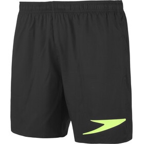 "speedo Sport Solifd 16"" Watershorts Men, black/green"